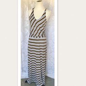 Michael Stars Long Summer Cross Strap Maxi Dress